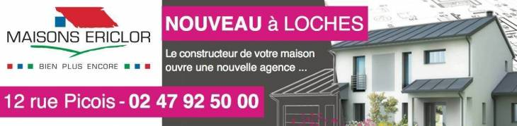 MAISONS ERICLOR inaugure sa nouvelle agence à Loches !