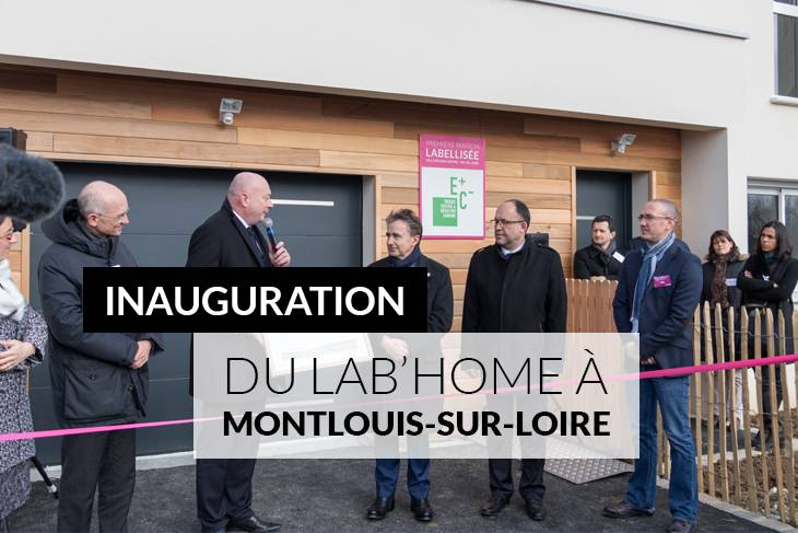 Inauguration du Lab'Home de Maisons Ericlor